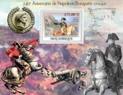 m9216b Mozambique 2010 240th Anniversary of Napoleon Bonaparte s/s Horse