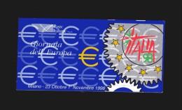 Italia ** - Anno 1998 - Giornata Dell'Europa A Italia 98, Adesivo - 1946-.. République