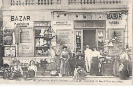 Ile d'Ol�ron hyper TOP - Bazar Parisien st Trojan les Bains -commerce magasin  - timbr�e 1912 excellent �tat RARE