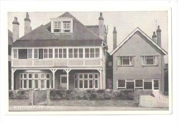 WESTCLIFF ON SEA LULWORTH COURT LARGE HOUSE Perhaps A Holiday Home For The Underpriveleged - Southend, Westcliff & Leigh