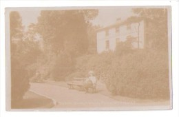 RP WESTCLIFF ON SEA  Chalkwell Park USED 1909 FADED ESSEX PHOTO CARD - Southend, Westcliff & Leigh