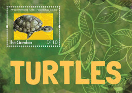 GAMBIA ; SCOTT # 3484 ; IGPC1309 S ; MINT N.H STAMPS ( TURTLES - Gambia (1965-...)