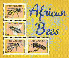 GAMBIA ; SCOTT # 3503 ; IGPC1316 SH ; MINT N.H STAMPS ( INSECTS ; BEES - Gambia (1965-...)