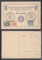 Germany, Berlin, Chruch Day (Deutsche EvangelischerKirchentag) 1951 Commemorative Card & Cancel - [5] Berlin
