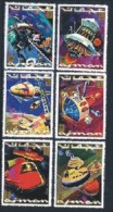 Ajman / Adschman: 'Zukunft Der Raumfahrt, 1971' / 'Science Fiction - Future In Space', Mi. 964-969 A ** - Space