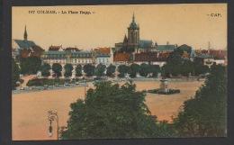 DF / 68 HAUT-RHIN / COLMAR / LA PLACE RAPP / CIRCULÉE EN 1925 - Colmar