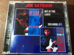 "JOE SATRIANI. ""Not Of This Earth / Dreaming# 1"" CD RUSSIAN Press - Hard Rock & Metal"