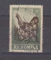 1956, GIBIERS,  YV No 1446  Et MI No1573  Coq De Bruyere / Tetrao Urogallus - 1948-.... Republiken