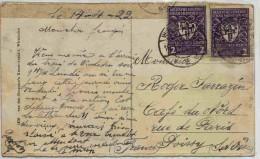 Lettre D'Allemagne En 1922 - Germania