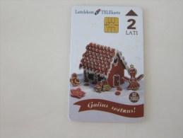Chip Phonecard,Chocolate,used - Latvia
