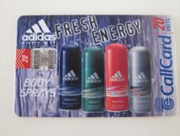 Chip Phonecard,Adidas,used - Irlanda