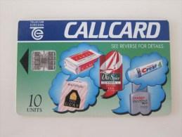 Chip Phonecard,the City Of GAB,used - Irlanda