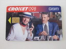 Chip Phonecard,GSM Advertisement,used - Kroatien