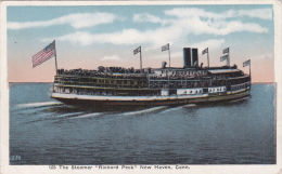 SHIPPING - STEAMER ' RICHARD PECK' NEW HAVEN CONN.USA - Steamers