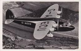 AVIATION - SHORT 'SCION' SENIOR - 1946-....: Moderne