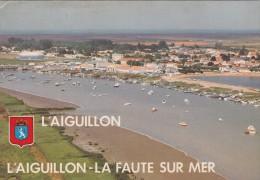Cp , 85 , L'AIGUILLON-sur-MER - LA FAUTE-sur-MER , Le Port Et Le Lac - Other Municipalities