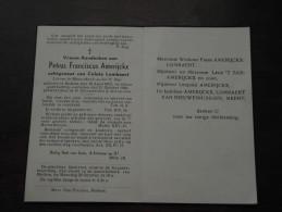 Petrus Franciscus AMERIJCKX (  Coleta Lombaert ) MOLLEM 16 April 1872 - 22 Okt 1948 ( DP ) ! - Godsdienst & Esoterisme
