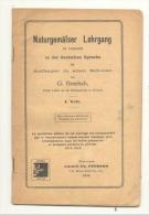 Cours D'allemand Par G. Broelsch, Professeur à L'Ecole Normale De Verviers - Ecriture Romaine Et Gothique (jm) - Livres Scolaires