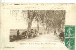 COGOLIN ....VAR....Route De St Tropez......Romanichels à L'Ouvrage.....bonne Animation...RARE - Cogolin
