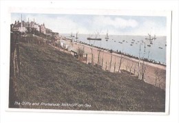 WESTCLIFF ON SEA THE CLIFFS AND PROMENADE Nr Southend  1912 - Southend, Westcliff & Leigh
