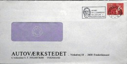 Denmark 1982  Letter Minr.749 Frederikssund   TMS Nr.281  ( Lot 3498 ) - Covers & Documents