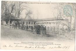 LABARTHE-de-RIVIÈRE -- Etablissement Des Bains -- Source MINERALE Et SAVONNEUSE Précurseur Timbrée Excellent état - Autres Communes