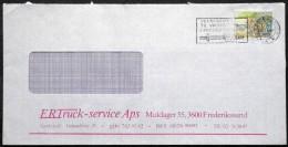 Denmark 1984  Letter Minr.805 Frederikssund TMS Nr.690 ( Lot 3511 ) - Covers & Documents