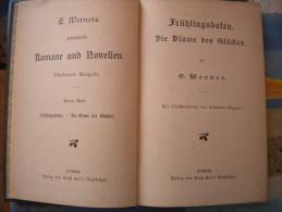 E.Werner  - E. Burstenbind - FRUHLINGSBOTEN - Romane Und Novellen - Leipzig - Autori Tedeschi