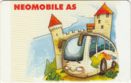 ESTONIA(chip) - Neomobile AS Bus Card, Used - Sin Clasificación