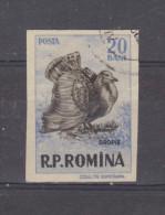 1956, GIBIERS,  YV No 1489  Et MI No 1615  Outarde /otis Tarda - 1948-.... Republiken
