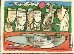 CP Club Neudin - Pierre Marquer à Saint-Tropez (83) D´après Un Dessin De Paul Maudonnet Bonne Pèche - Carte N° 133 - Marquer