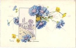 Bleuets Illustrateur Trimm écrite 1925 - Illustrateurs & Photographes