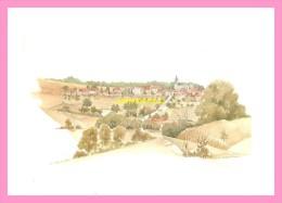 CPM  BOURDONS SUR ROGNON Aquarelle De Nicole SIMONIN - Autres Communes