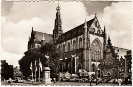 Haarlem: FORD F1 VAN, CITROËN TRACTION AVANT, CHEVROLET FLEETMASTER, 2x VW KEVER 1200 , OLDTIMER AUTO'S - Grote Markt - Turismo