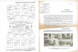 VETEMENTS POUR LES COMBATTANTS 1915 ADMINISTRATION DU FOYER NOEL AUX ARMEES PROPAGANDE FRANCAISE CHEZ LES NEUTRES - Documents