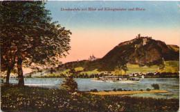 Drachenfels Mit Blick Auf Königswinter Und Rhein - Koenigswinter
