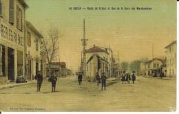 CPA  CANNES LA BOCCA Route De Fréjus Et Rue De La Gare Des Marchandises 10571 - Cannes