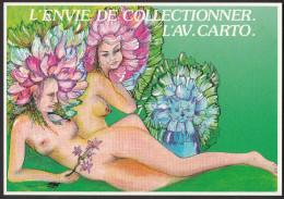 CPM - L´Aventure Carto - QUENTIN - Nymphes - 1987 - Etat Neuf - Quentin