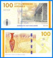 Danemark 100 Couronnes 2009 Neuf Uncirculated Serie A Denmark Kroner Bridge Skrill Paypal Bitcoin OK - Danemark