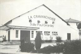 """/ CPSM FRANCE 90 """"Cravanche, La Cravanchoise, Salle Paul Girardey"""" - France"""