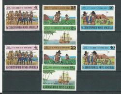 St-Christopher-Nevis-Anguilla: 272/ 275 + 279/ 282 ** - St.Kitts-et-Nevis ( 1983-...)