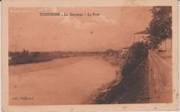 Lot  Et  Garonne :  TONNEINS  La  Garonne  , Le  Pont - Tonneins