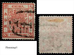 China, MiNr.2IIIo,pracht