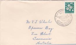 New Zealand 1960 21st Anniversary Tasman Airmail Souvenir Cover - New Zealand