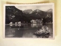 HOTEL LAGO DI BRAIES DOLOMITI NON VIAGGIATA N - Bolzano (Bozen)