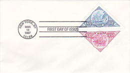 United States 1997 Pacific 97 Stamp Pair FDC - First Day Covers (FDCs)