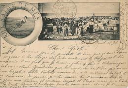 SCHEVENINGEN    Aux Bains De Mer (a Voyagé En 1896) - Scheveningen