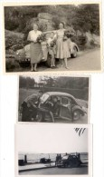 3 Photos Automobile Renault 4 Cv - Automobiles