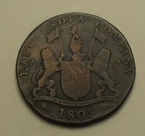 1803 - Inde Britannique - East India Company - XX CASH, Madras Presidency, KM 321 - Indien