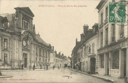EVREUX  -  27  - Palais De Justice , Rue Joséphine - Evreux